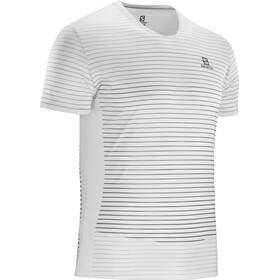 Salomon Sense T-shirt Homme, wht/alloy/quiet shade